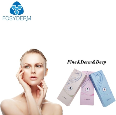 Fosyderm 1ml مرتبط Cross Hyaluronic Acid Injectable Filler CE ISO